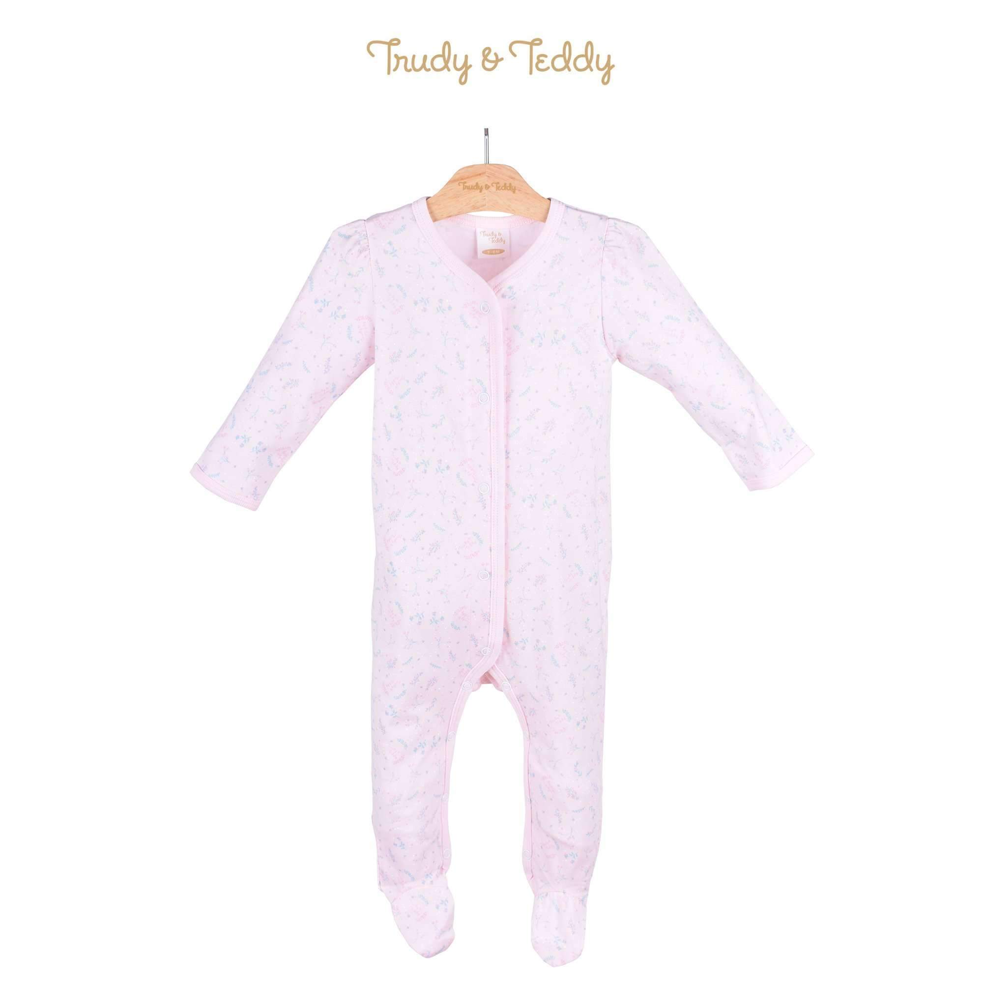 Trudy & Teddy Baby Girl Long Sleeve Romper 820022-362 : Buy Trudy & Teddy online at CMG.MY