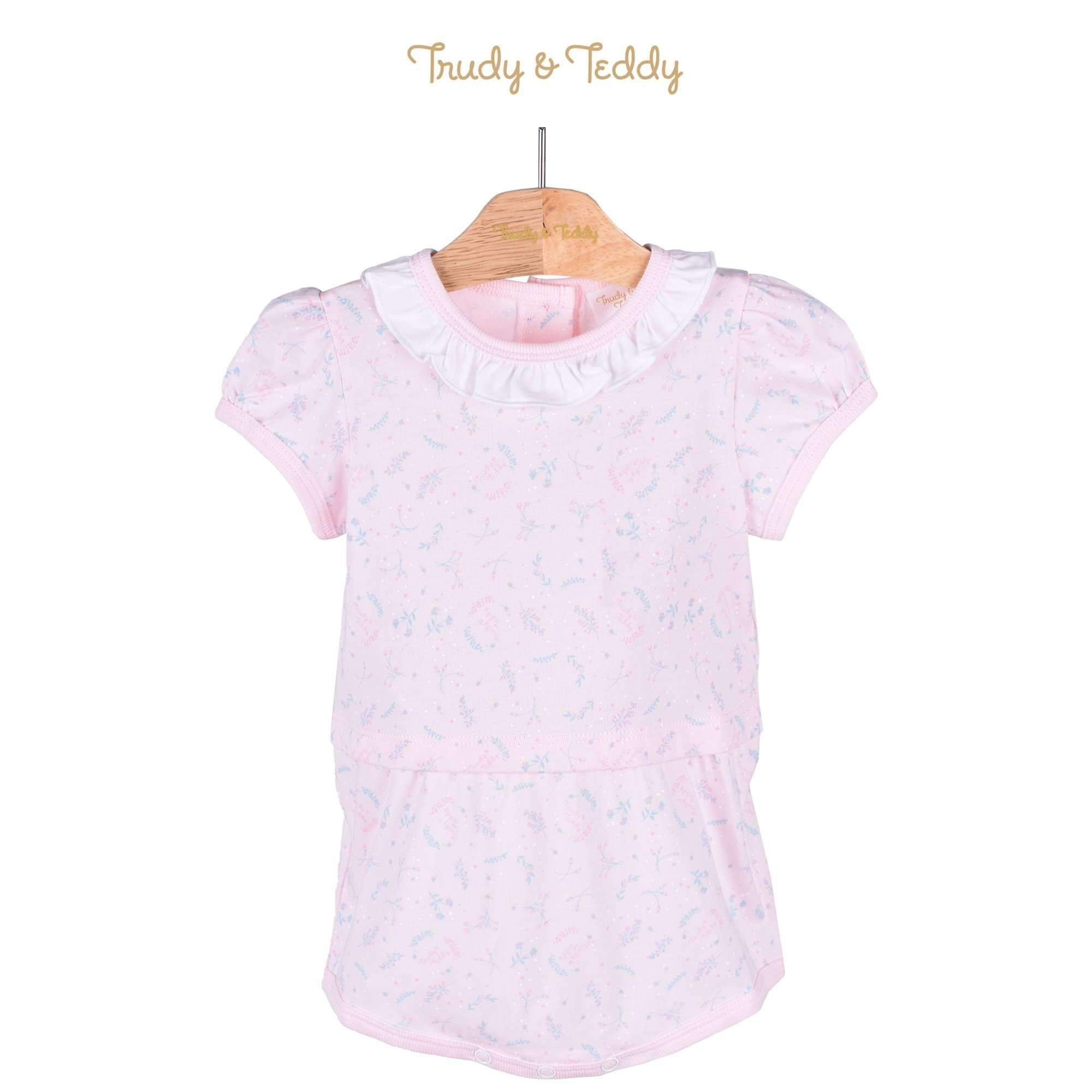 Trudy & Teddy Baby Girl Short Sleeve Romper 820022-361 : Buy Trudy & Teddy online at CMG.MY