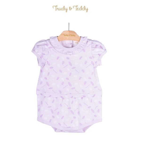 Trudy & Teddy Baby Girl Knit Short Sleeve Short Romper 820031-361 : Buy Trudy & Teddy online at CMG.MY