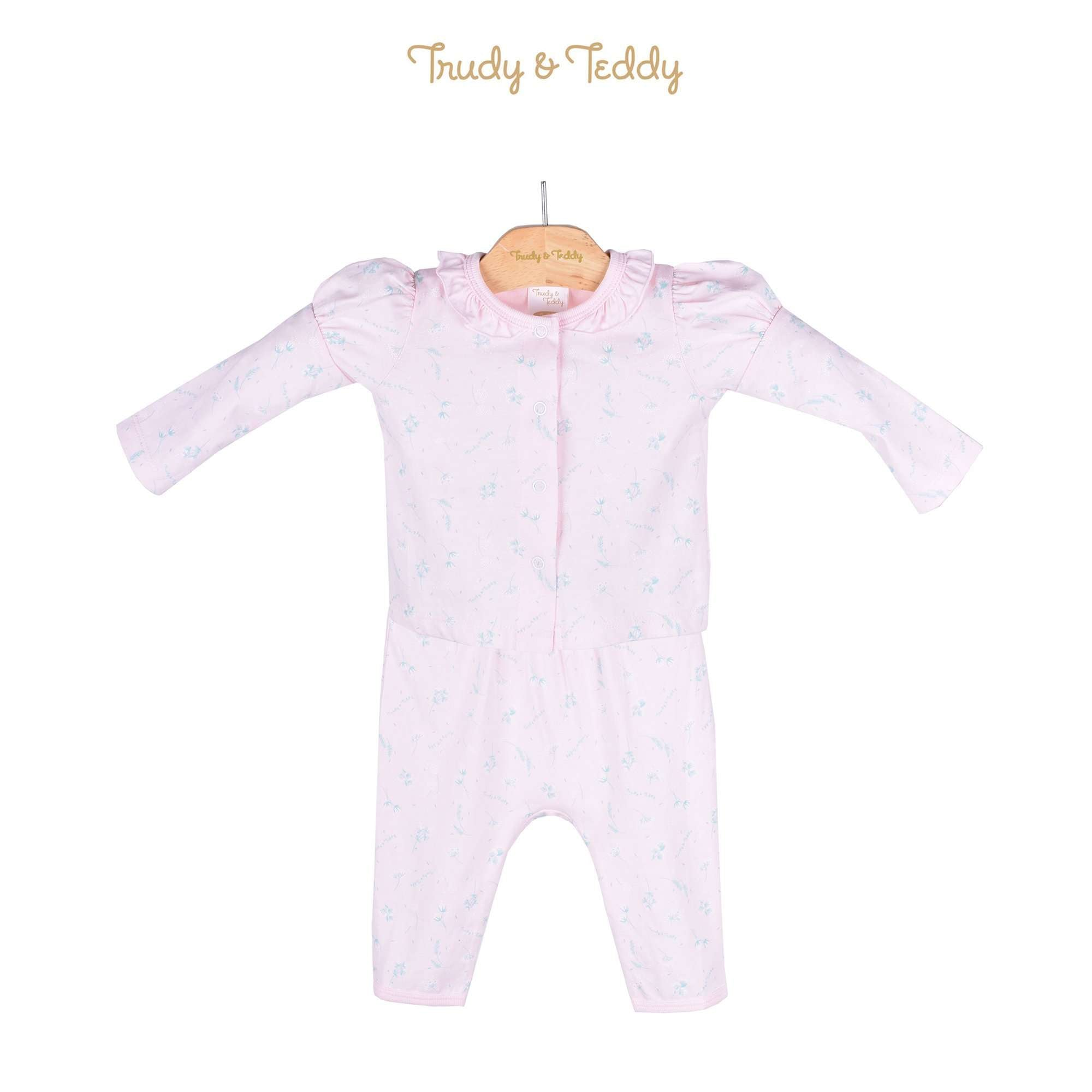Trudy & Teddy Baby Girl Long Sleeve Long Pants Suit 820032-431 : Buy Trudy & Teddy online at CMG.MY