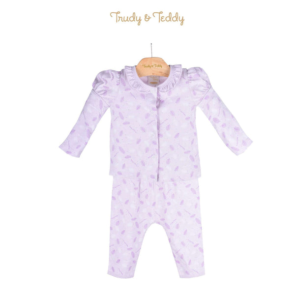 Trudy & Teddy Baby Girl Long Sleeve Long Pants Suit 820031-431 : Buy Trudy & Teddy online at CMG.MY