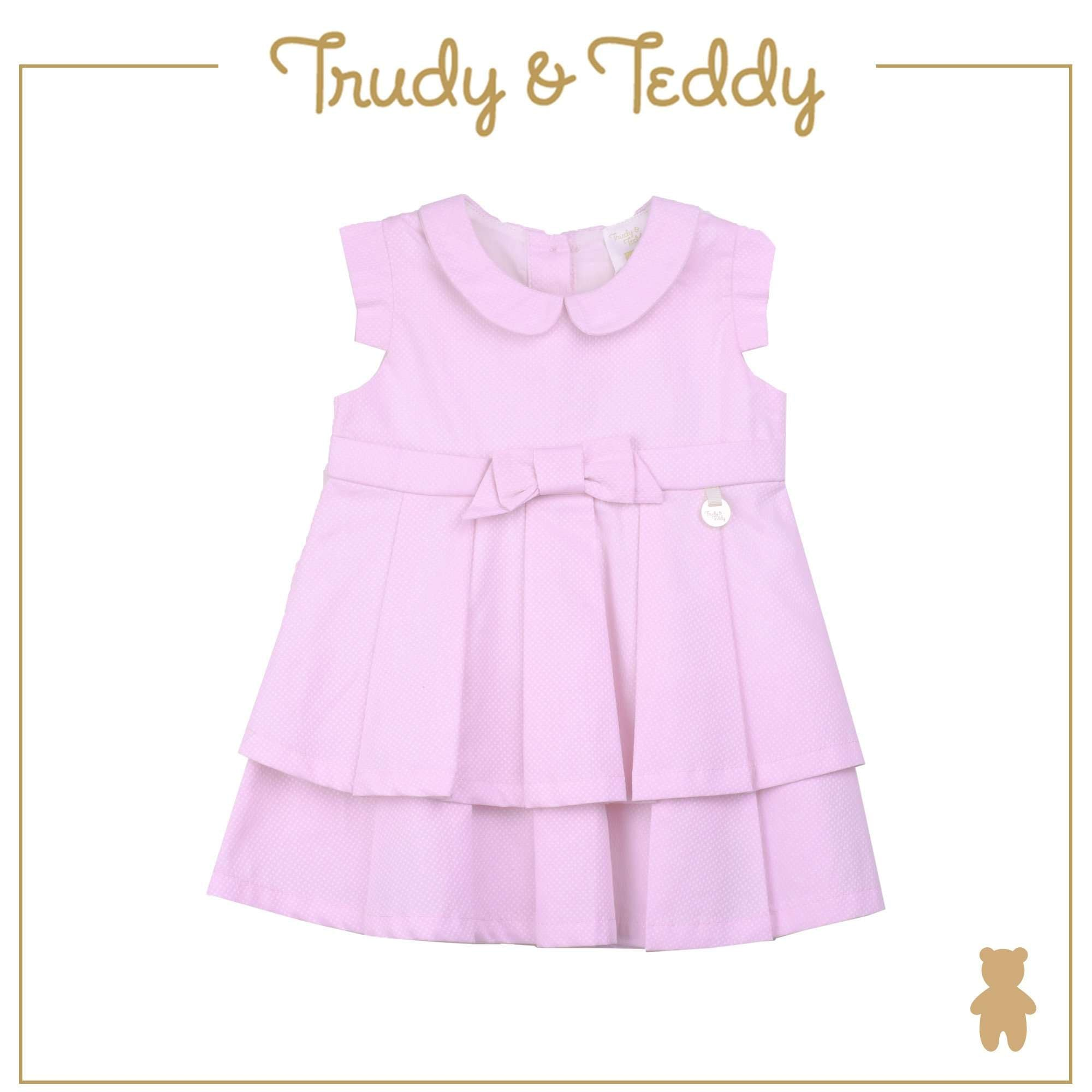 Trudy & Teddy Baby Girl Short Sleeve Dress T924002-3141-P1 : Buy Trudy & Teddy online at CMG.MY