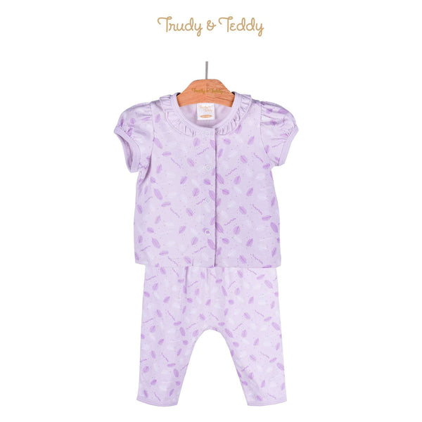Trudy & Teddy Baby Girl Short Sleeve Long Pants Suit 820031-421 : Buy Trudy & Teddy online at CMG.MY