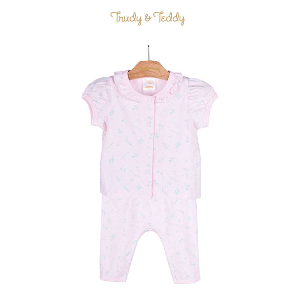 Trudy & Teddy Baby Girl Short Sleeve Long Pant Suit 820032-421 : Buy Trudy & Teddy online at CMG.MY
