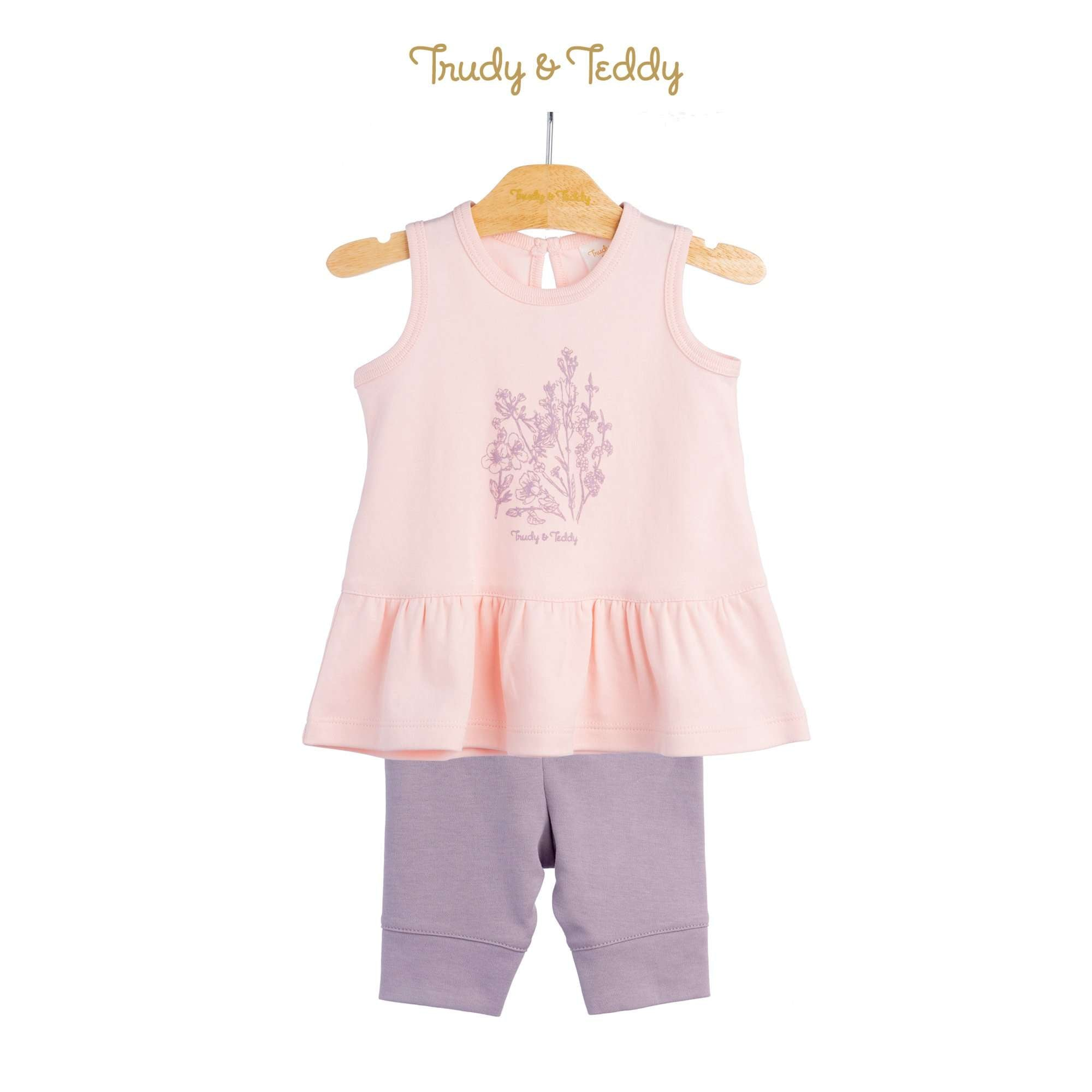 Trudy & Teddy Baby Girl Sleeveless Bermuda Suit 820043-402 : Buy Trudy & Teddy online at CMG.MY