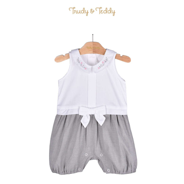 Trudy & Teddy Baby Girl Sleeveless Short Romper 810092-351 : Buy Trudy & Teddy online at CMG.MY