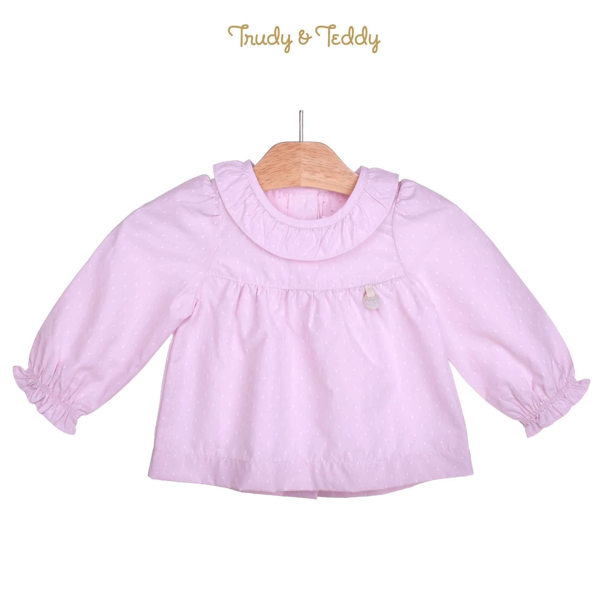 Trudy & Teddy Baby Girl Woven 3/4 Sleeve Blouse 810117-151 : Buy Trudy & Teddy online at CMG.MY