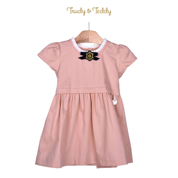 Trudy & Teddy Baby Girl Woven Short Sleeve Dress- 810118-311 : Buy Trudy & Teddy online at CMG.MY