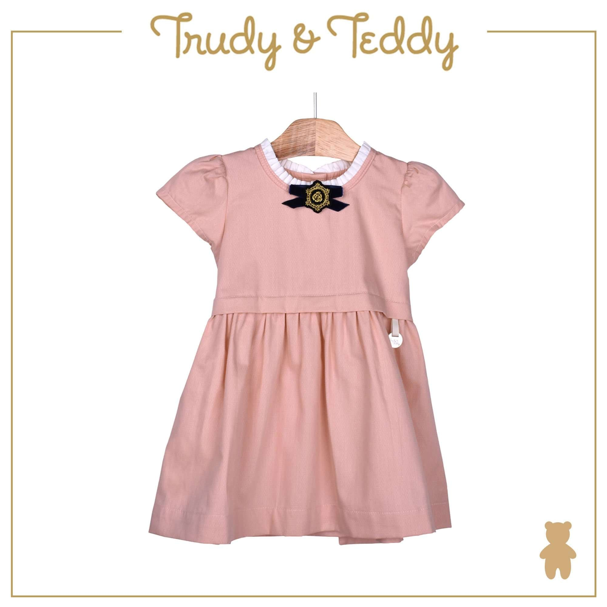 Trudy & Teddy Baby Girl Woven Short Sleeve Dress 810118-311 : Buy Trudy & Teddy online at CMG.MY