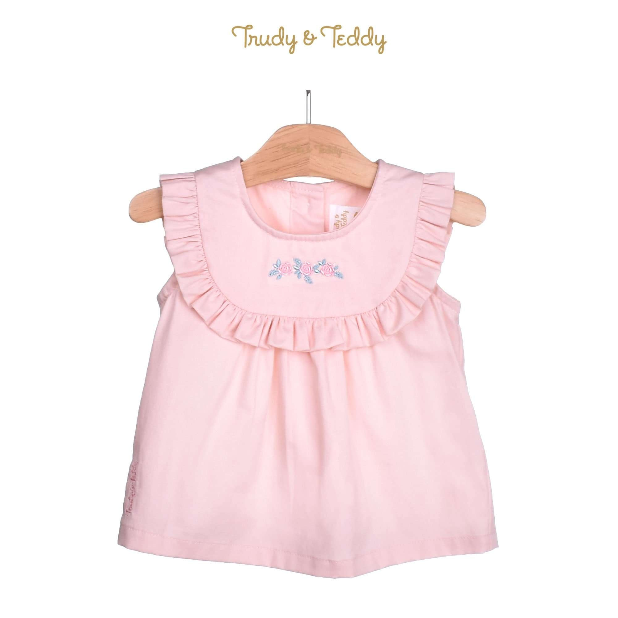 Trudy & Teddy Baby Girl Woven Sleeveless Blouse 810103-141 : Buy Trudy & Teddy online at CMG.MY