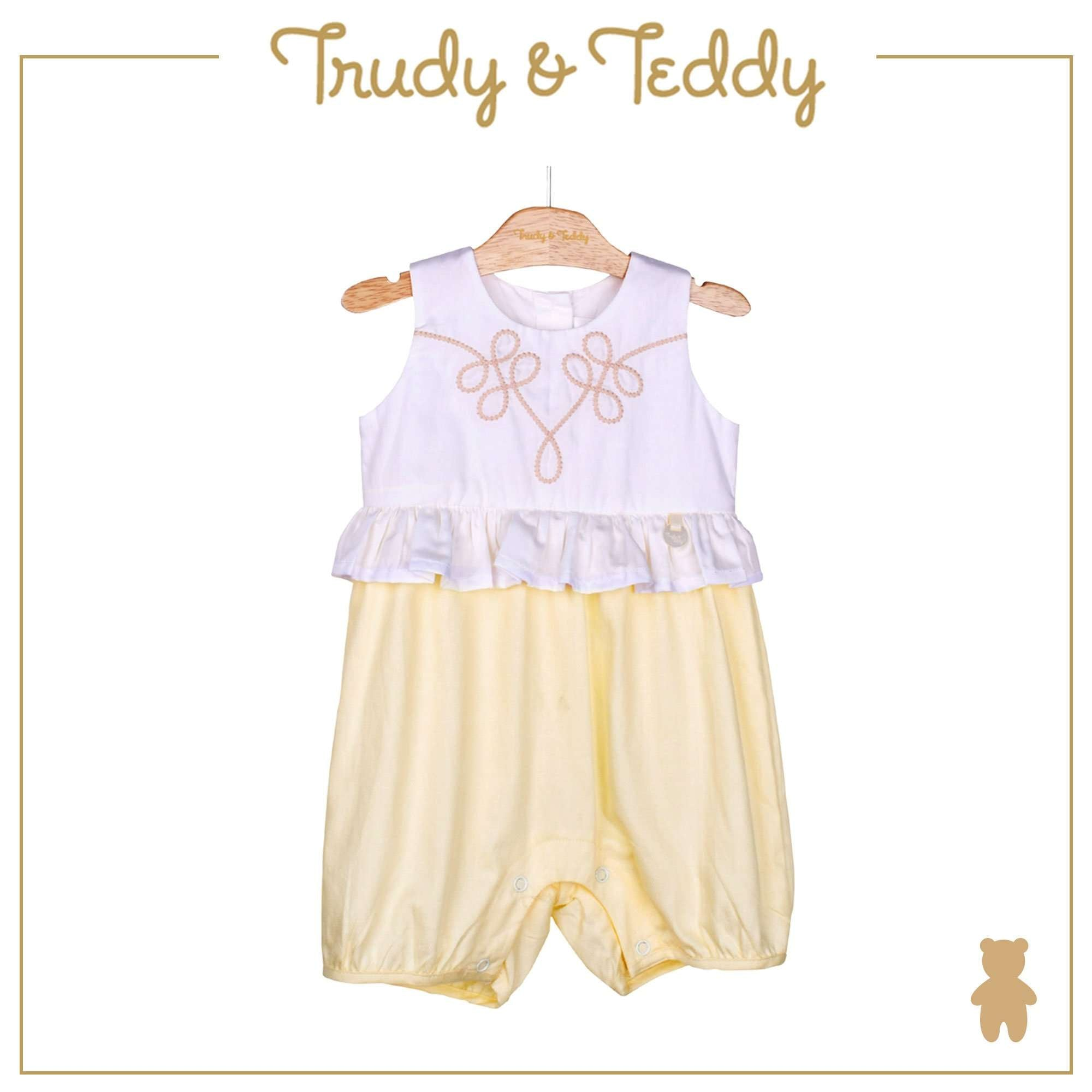 Trudy & Teddy Baby Girl Woven Sleeveless Romper- 810118-351 : Buy Trudy & Teddy online at CMG.MY