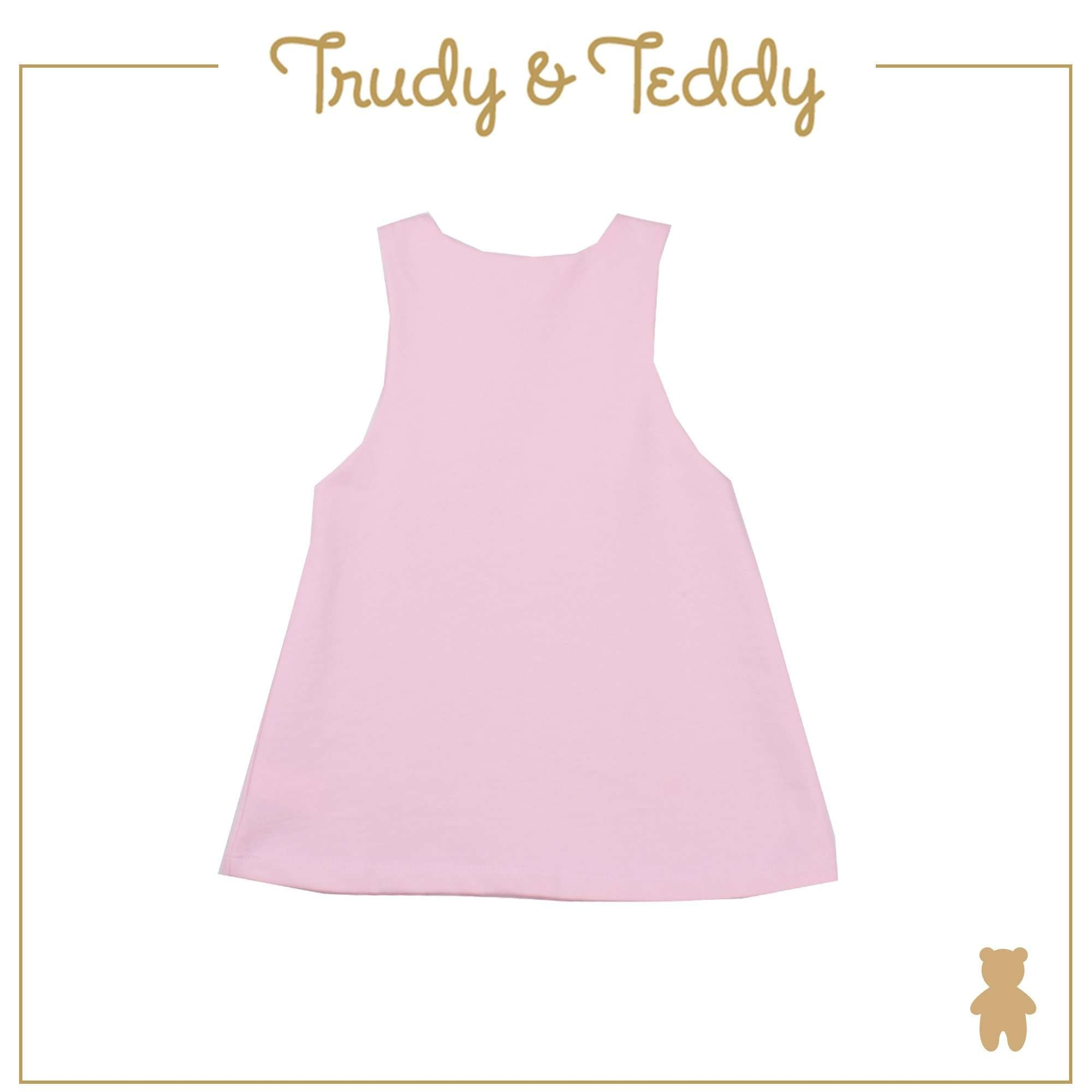 Trudy & Teddy Baby to Kid Girl Short Sleeve Pinafore Suit - Light Pink T925103-4710-P1 : Buy Trudy & Teddy online at CMG.MY