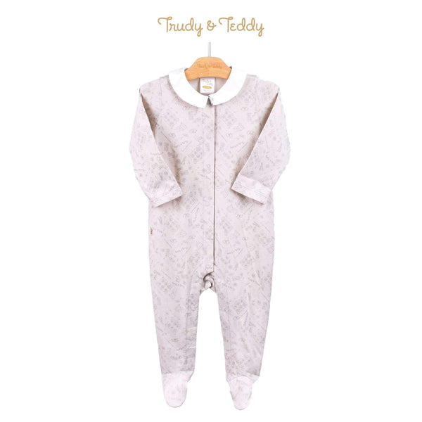 Trudy & Teddy Baby Boy Long Sleeve Long Romper 810022-362 : Buy Trudy & Teddy online at CMG.MY