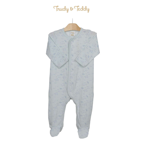 Trudy & Teddy Baby Boy Long Sleeve Long Romper 820038-362 : Buy Trudy & Teddy online at CMG.MY