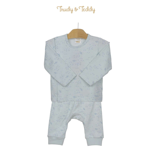 Trudy & Teddy Baby Boy Long Sleeve Long Pants Suit 820038-431 : Buy Trudy & Teddy online at CMG.MY