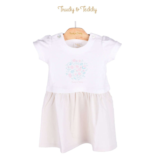 Trudy & Teddy Baby Girl Short Sleeve Dress 820028-331 : Buy Trudy & Teddy online at CMG.MY