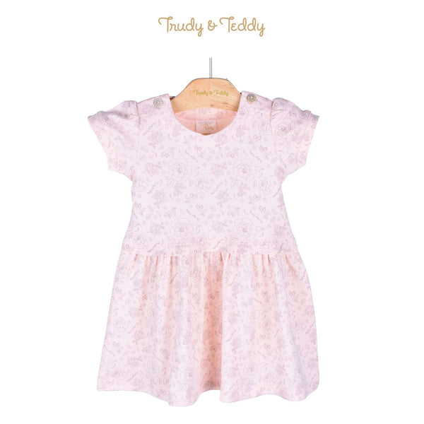 Trudy & Teddy Baby Girl Short Sleeve Dress 820028-333 : Buy Trudy & Teddy online at CMG.MY