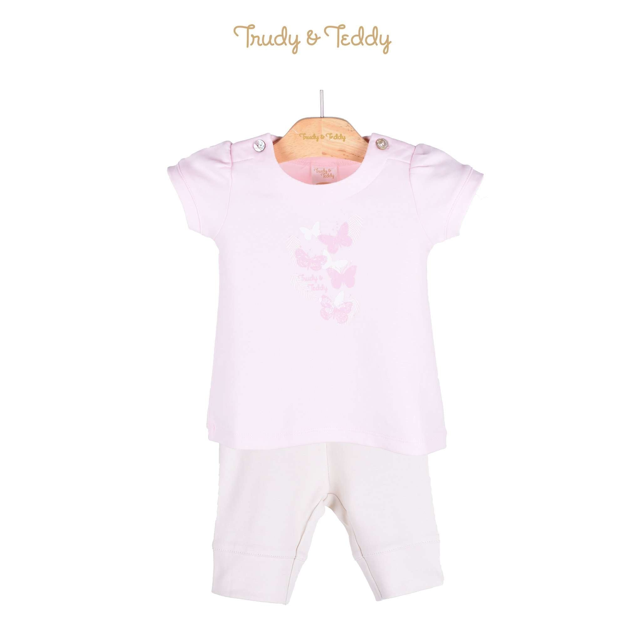 Trudy & Teddy Baby Girl Short Sleeve Bermuda Suit 820028-412 : Buy Trudy & Teddy online at CMG.MY