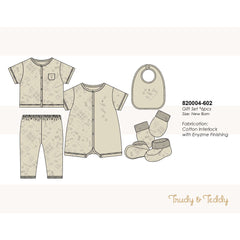 Trudy & Teddy New Born Baby Boy Gift Set 820004-602 : Buy Trudy & Teddy online at CMG.MY