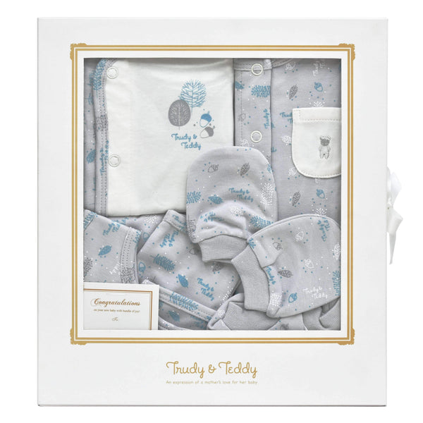 Trudy & Teddy New Born Baby Boy Gift Set 820009-602 : Buy Trudy & Teddy online at CMG.MY