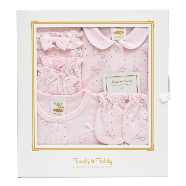 Trudy & Teddy New Born Baby Girl Gift Set 820008-602 : Buy Trudy & Teddy online at CMG.MY