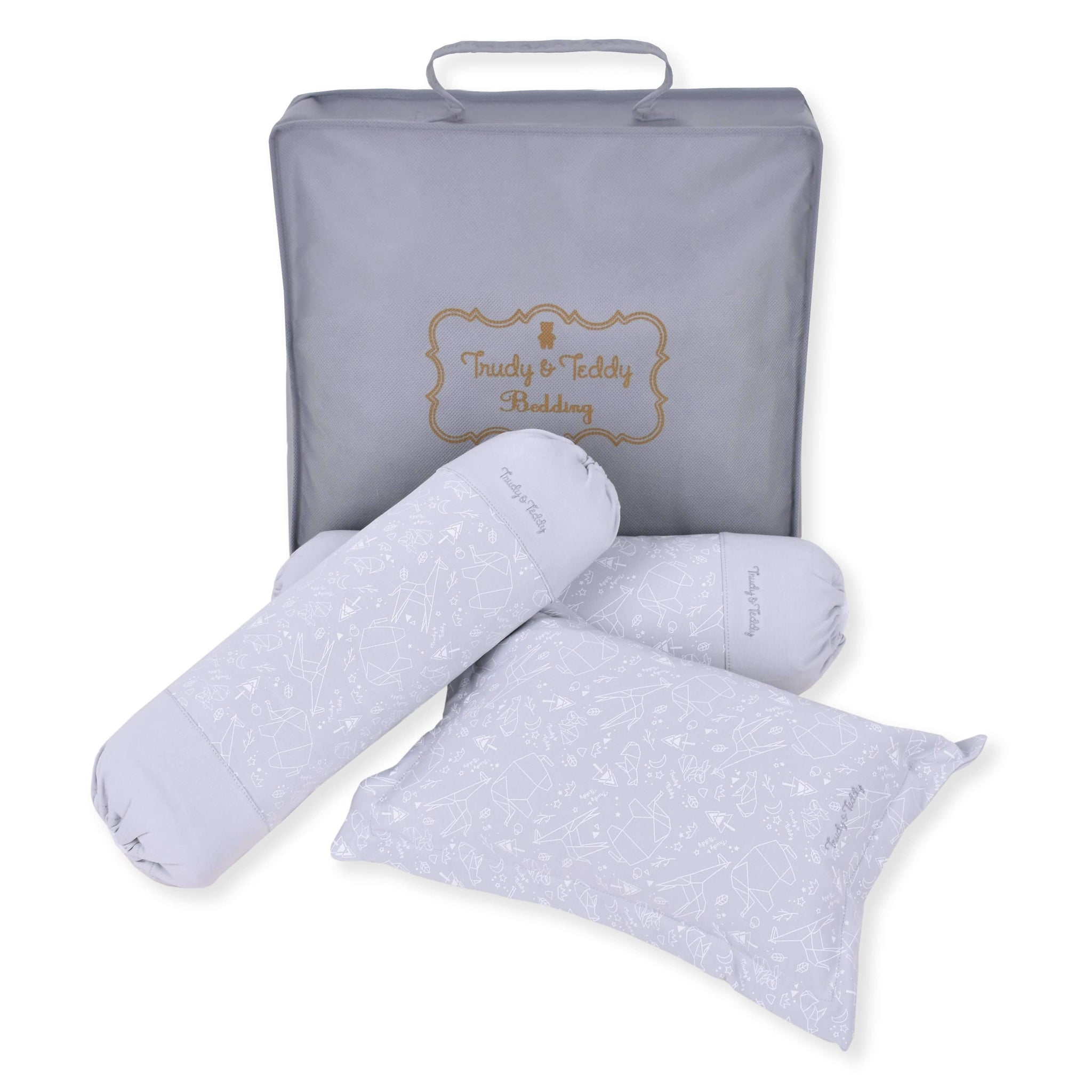 Trudy & Teddy Pillow and Bolster Set 8643-012 : Buy Trudy & Teddy online at CMG.MY