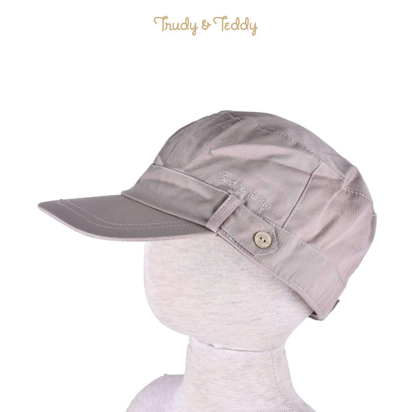 Trudy & Teddy Toddler Boy Cotton Woven Woven Cap Khaki 815057-711 : Buy Trudy & Teddy online at CMG.MY