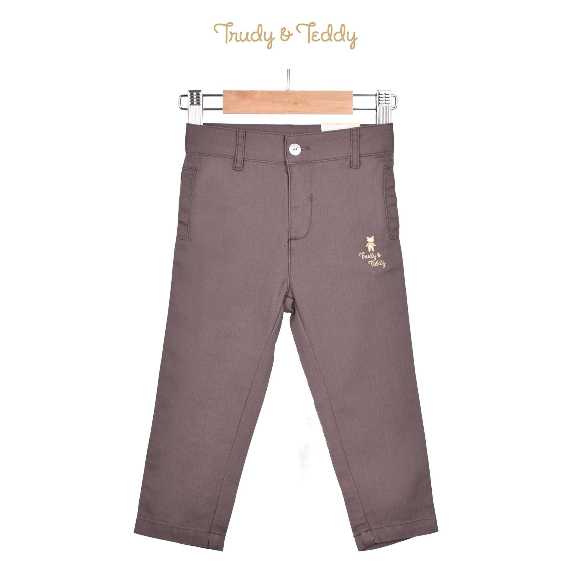Trudy & Teddy Toddler Boy Long Pants - Brown 815152-251 : Buy Trudy & Teddy online at CMG.MY
