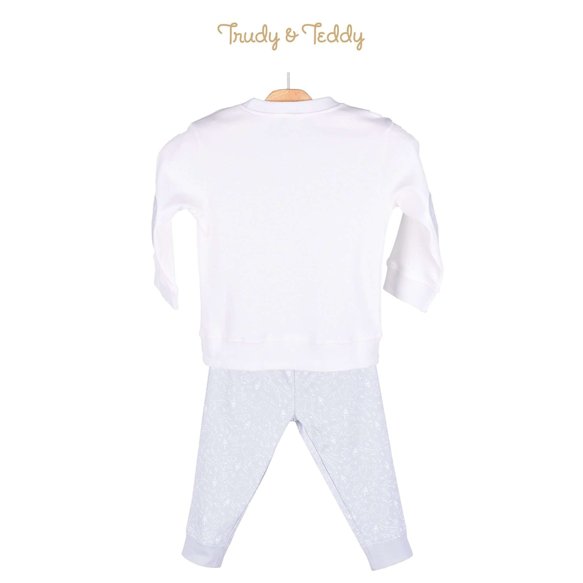 Trudy & Teddy Toddler Boy Long Sleeve Long Pants Suit 825021-432 : Buy Trudy & Teddy online at CMG.MY