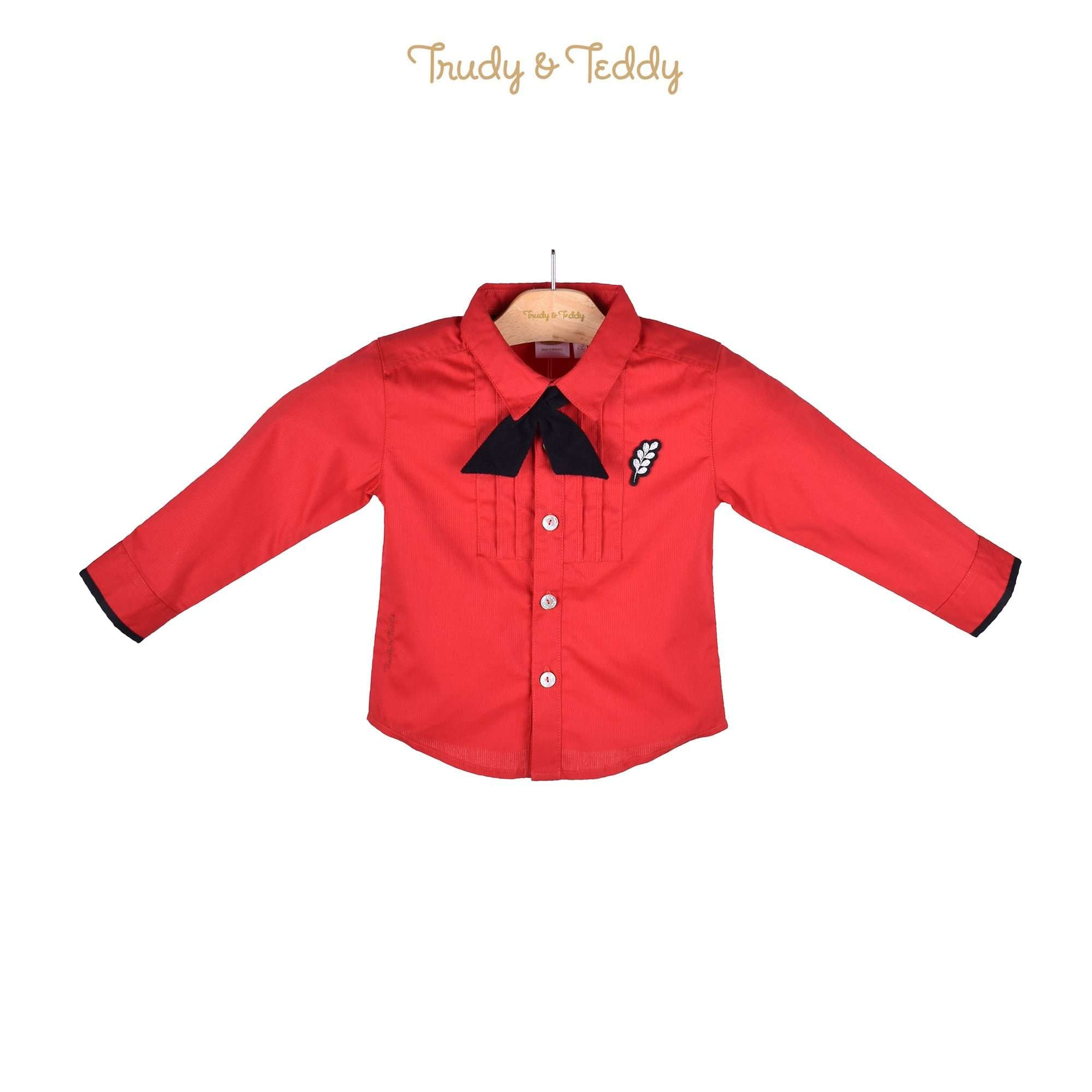 Trudy & Teddy Toddler Boy Long Sleeve Shirt 815123-151 : Buy Trudy & Teddy online at CMG.MY