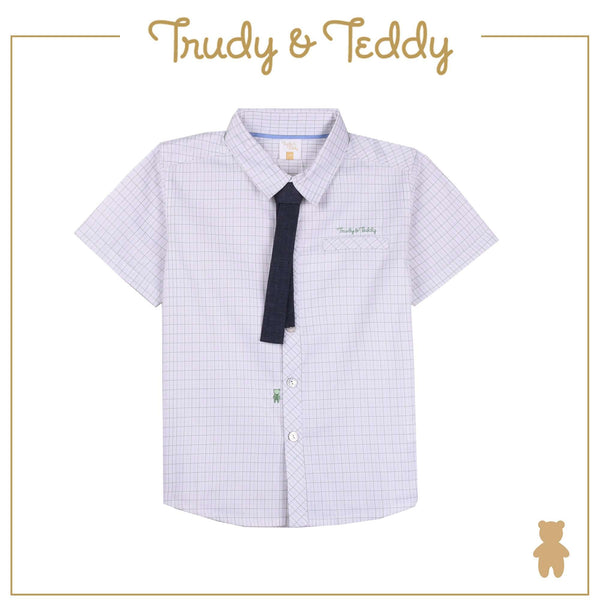 Trudy & Teddy Toddler Boy Short Sleeve Shirt - Light Green T922002-1454-N1 : Buy Trudy & Teddy online at CMG.MY
