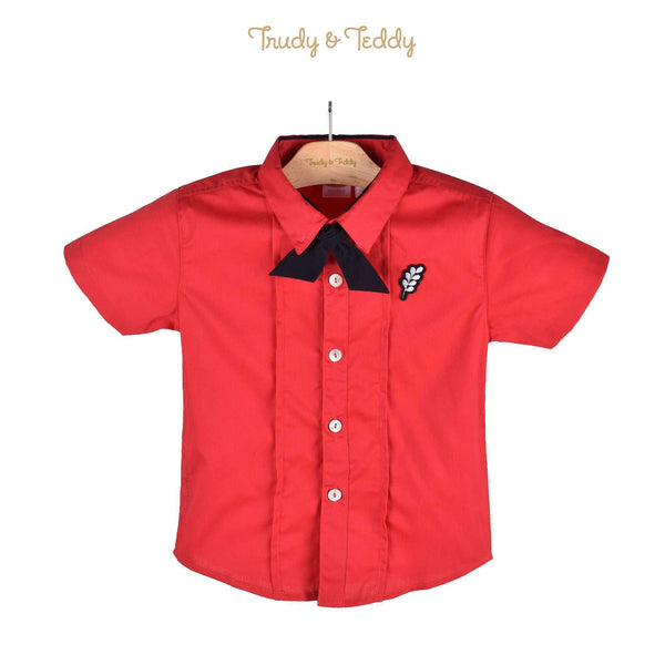 Trudy & Teddy Toddler Boy Short Sleeve Shirt 815123-141 : Buy Trudy & Teddy online at CMG.MY