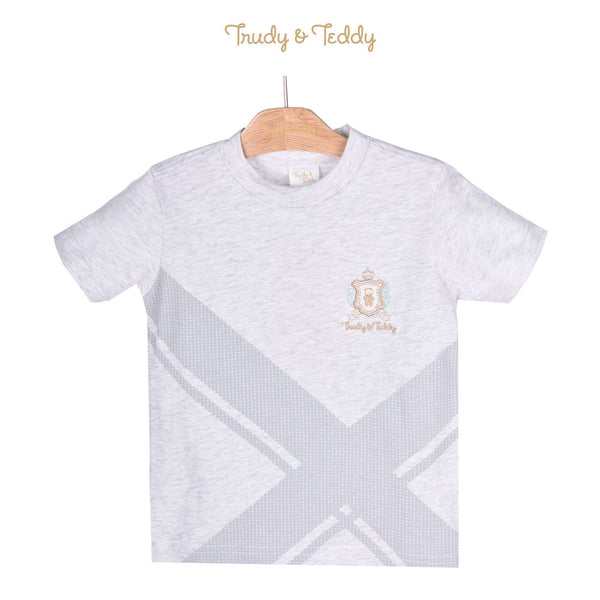 Trudy & Teddy Toddler Boy Short Sleeve Tee 825042-111 : Buy Trudy & Teddy online at CMG.MY