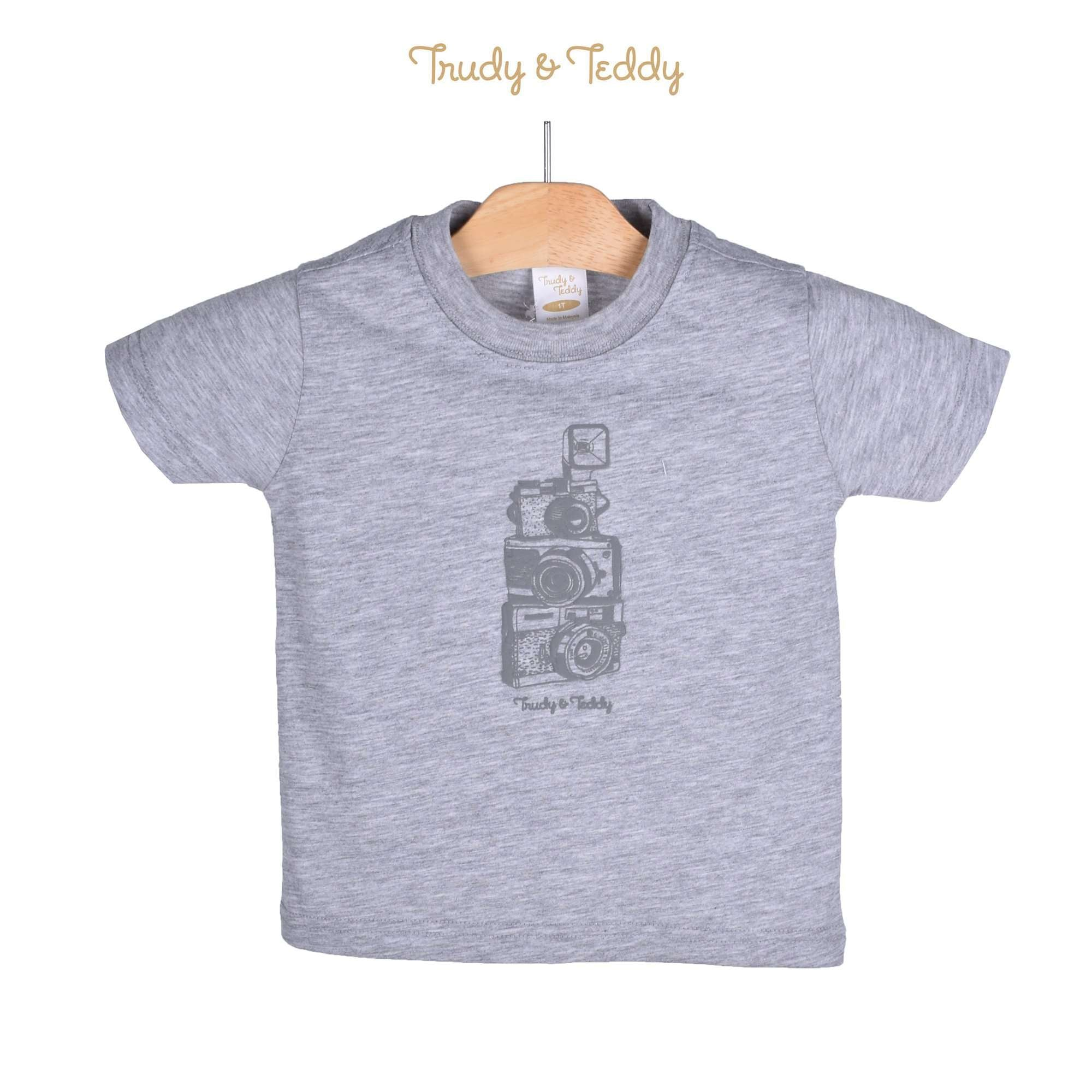 Trudy & Teddy Toddler Boy Short Sleeve Tee 825046-111 : Buy Trudy & Teddy online at CMG.MY