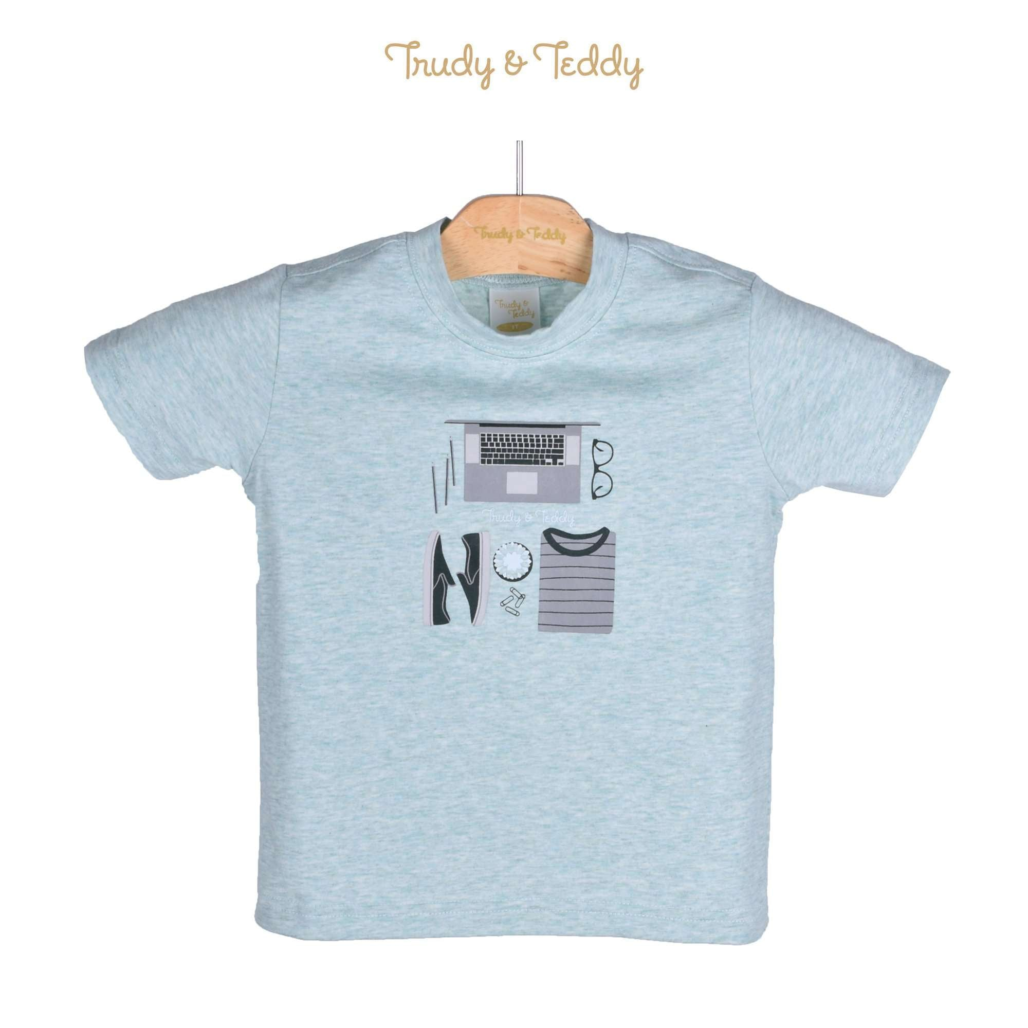 Trudy & Teddy Toddler Boy Short Sleeve Tee 825046-112 : Buy Trudy & Teddy online at CMG.MY