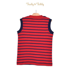 Trudy & Teddy Toddler Boy Sleeveless Tee - Red 825040-101 : Buy Trudy & Teddy online at CMG.MY