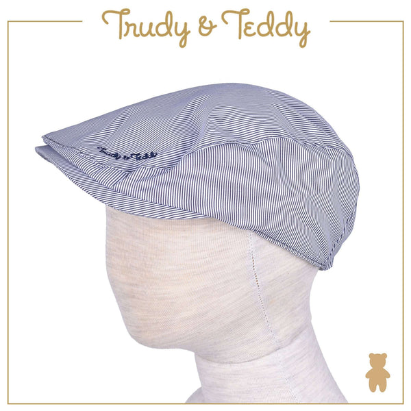 Trudy & Teddy Toddler Boy Woven Cap - Blue 815158-712 : Buy Trudy & Teddy online at CMG.MY