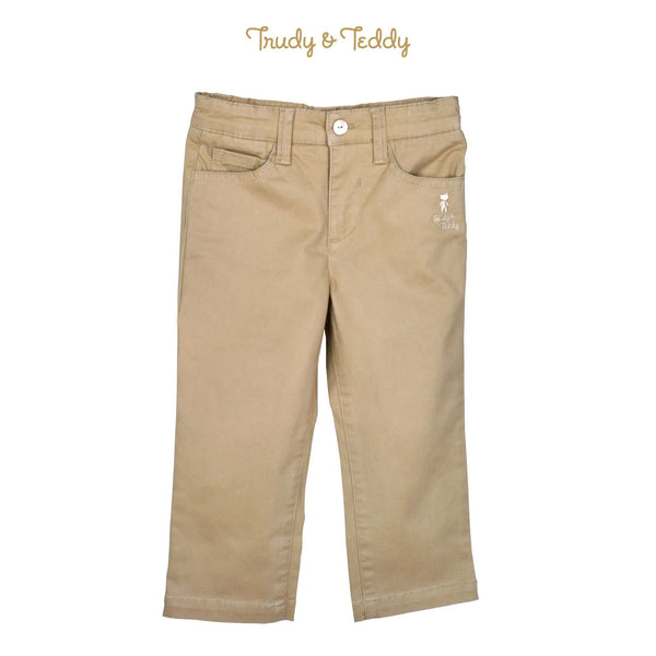 Trudy & Teddy Toddler Boy Woven Long Pants Slim Fit- 815165-251 : Buy Trudy & Teddy online at CMG.MY