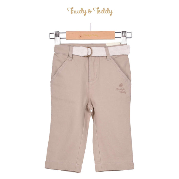 Trudy & Teddy Toddler Girl Capri Pants - Khaki 815137-251 : Buy Trudy & Teddy online at CMG.MY