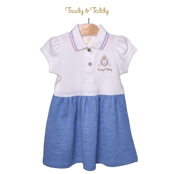 Trudy & Teddy Toddler Girl Knit Short Sleeve Dress 825034-331 : Buy Trudy & Teddy online at CMG.MY