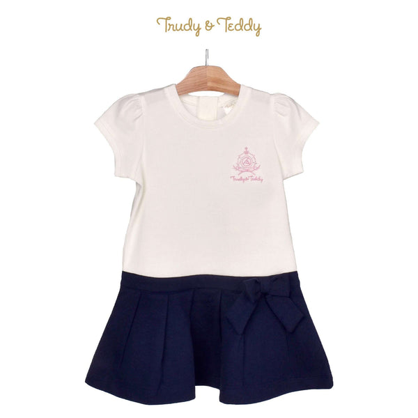 Trudy & Teddy Toddler Girl Knit Short Sleeve Dress 825036-332 : Buy Trudy & Teddy online at CMG.MY