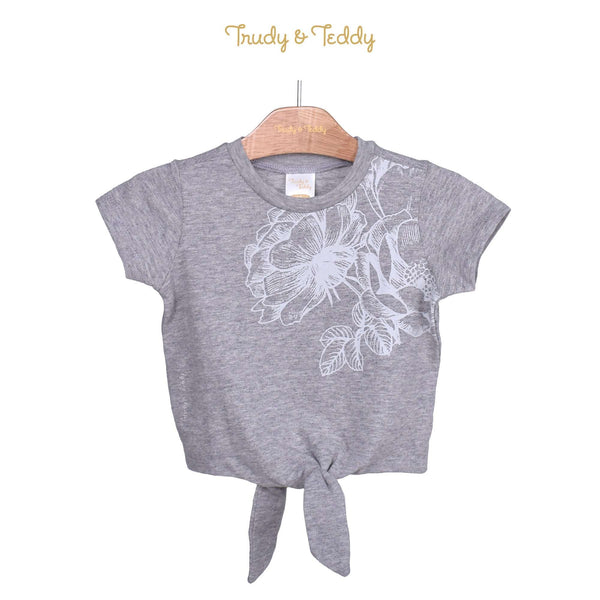 Trudy & Teddy Toddler Girl Knit Short Sleeve Tee 825037-111 : Buy Trudy & Teddy online at CMG.MY