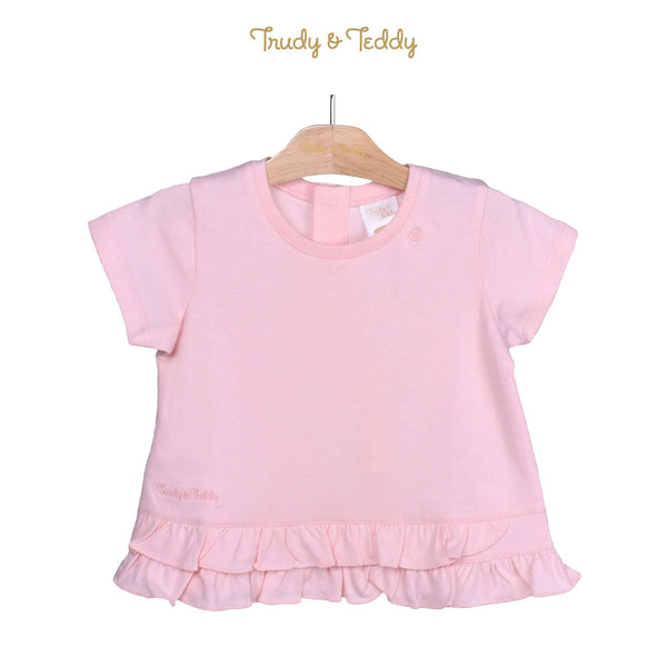 Trudy & Teddy Toddler Girl Knit Short Sleeve Tee 825037-113 : Buy Trudy & Teddy online at CMG.MY