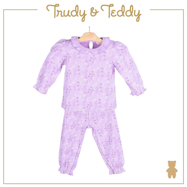 Trudy & Teddy Toddler Girl Long Sleeve Long Pants Suit 825019-431 : Buy Trudy & Teddy online at CMG.MY