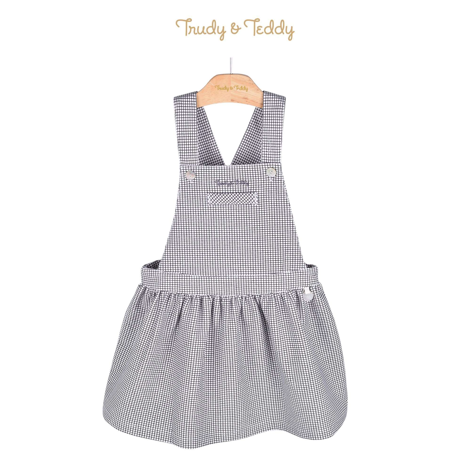 Trudy & Teddy Toddler Girl Pinafore 815122-271 : Buy Trudy & Teddy online at CMG.MY