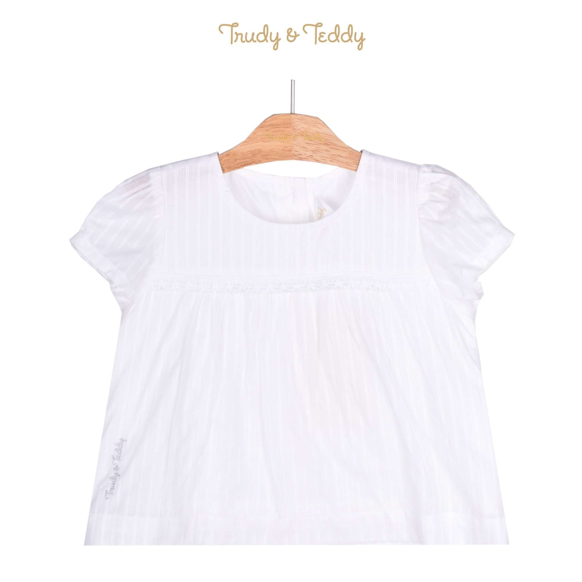 Trudy & Teddy Toddler Girl Short Sleeve Blouse 815143-141 : Buy Trudy & Teddy online at CMG.MY