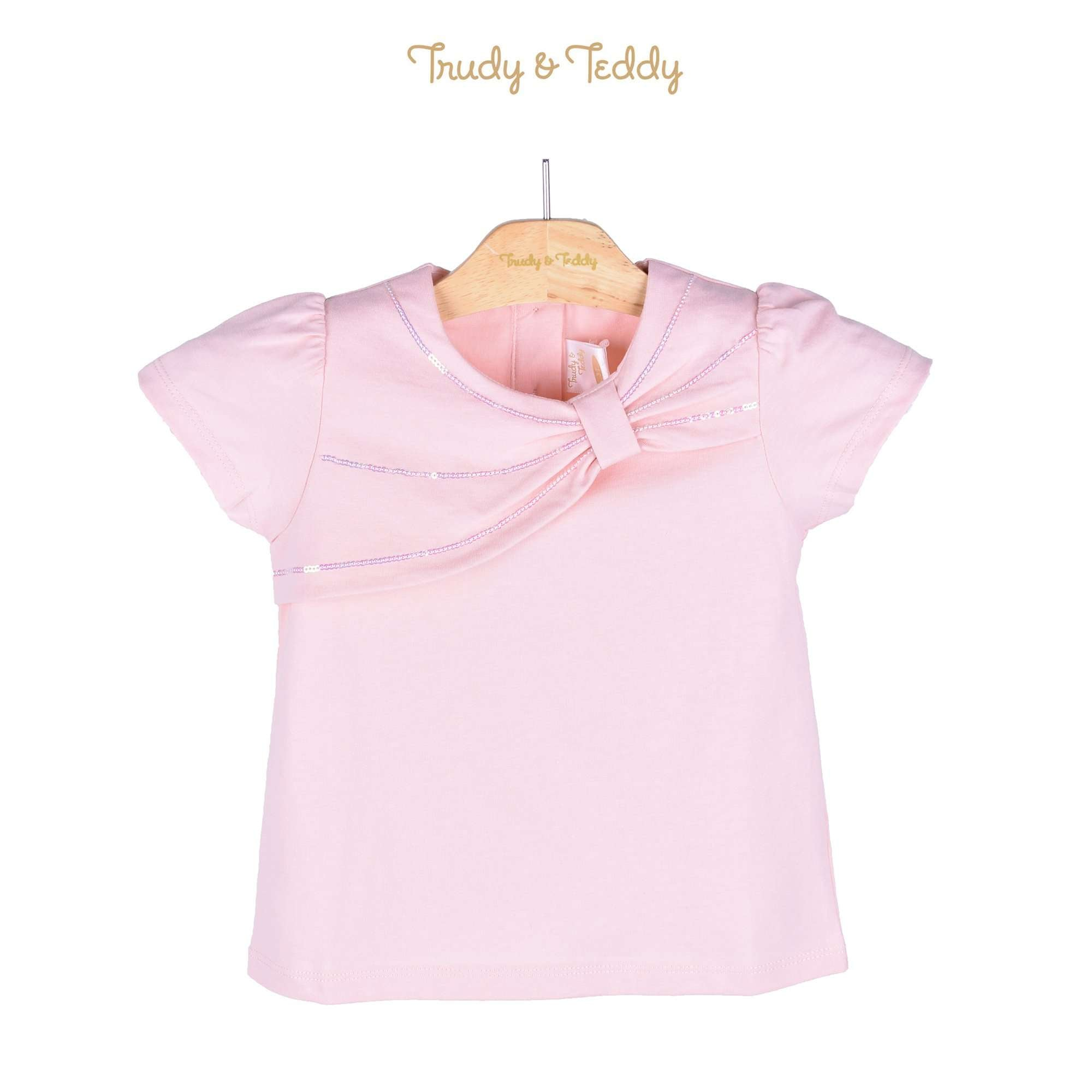 Trudy & Teddy Toddler Girl Short Sleeve Tee 815122-111 : Buy Trudy & Teddy online at CMG.MY