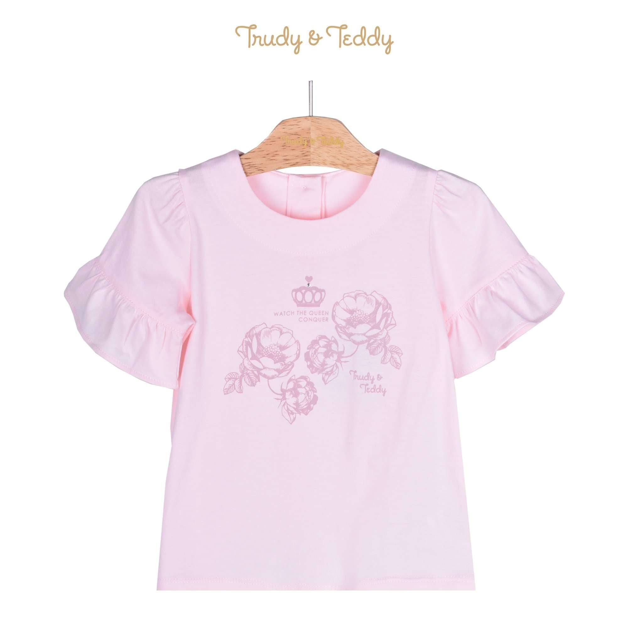 Trudy & Teddy Toddler Girl Short Sleeve Tee 815146-111 : Buy Trudy & Teddy online at CMG.MY