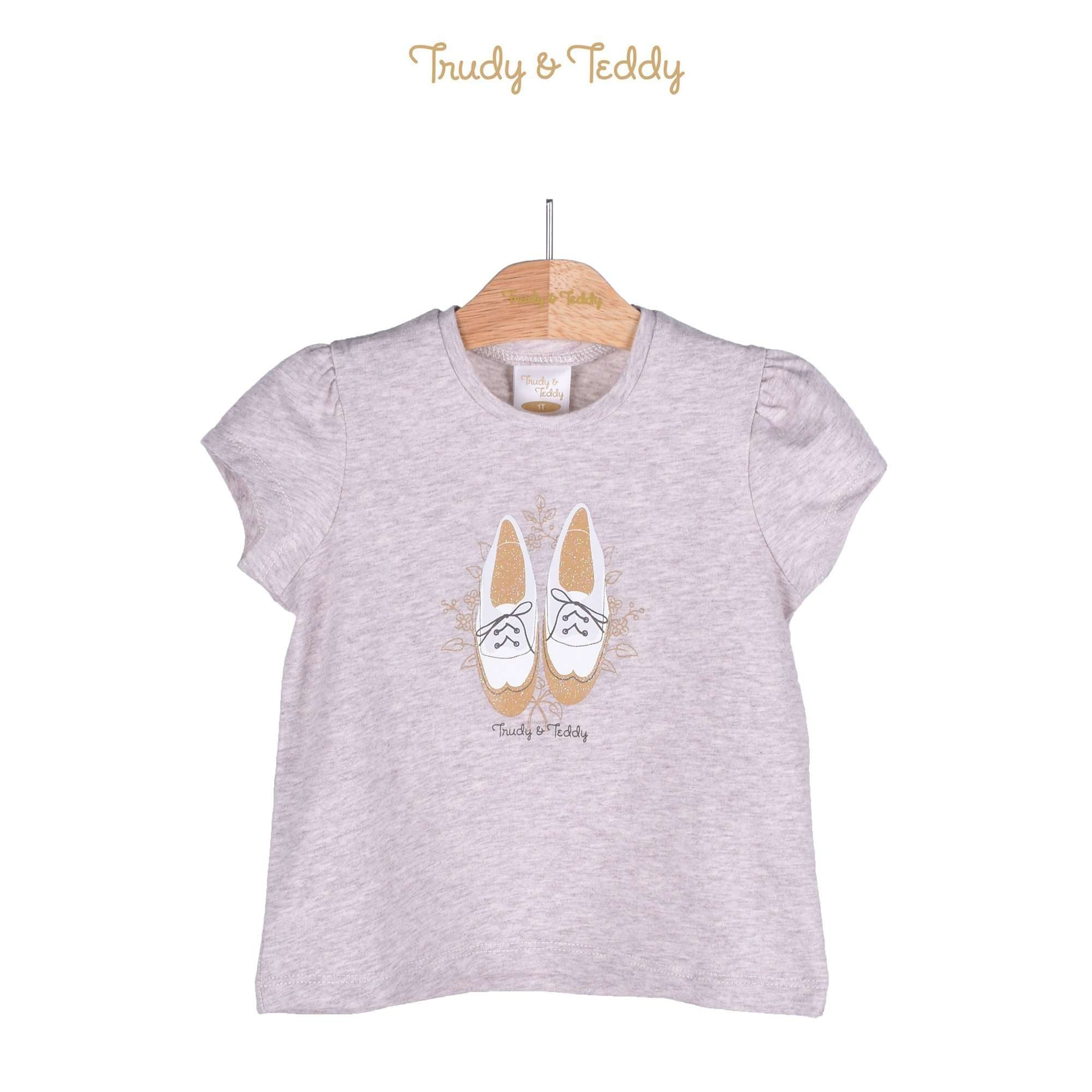 Trudy & Teddy Toddler Girl Short Sleeve Tee 825045-111 : Buy Trudy & Teddy online at CMG.MY