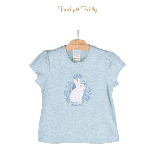 Trudy & Teddy Toddler Girl Short Sleeve Tee 825045-113 : Buy Trudy & Teddy online at CMG.MY